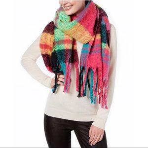 Color Me Plaid Blanket Scarf & Wrap